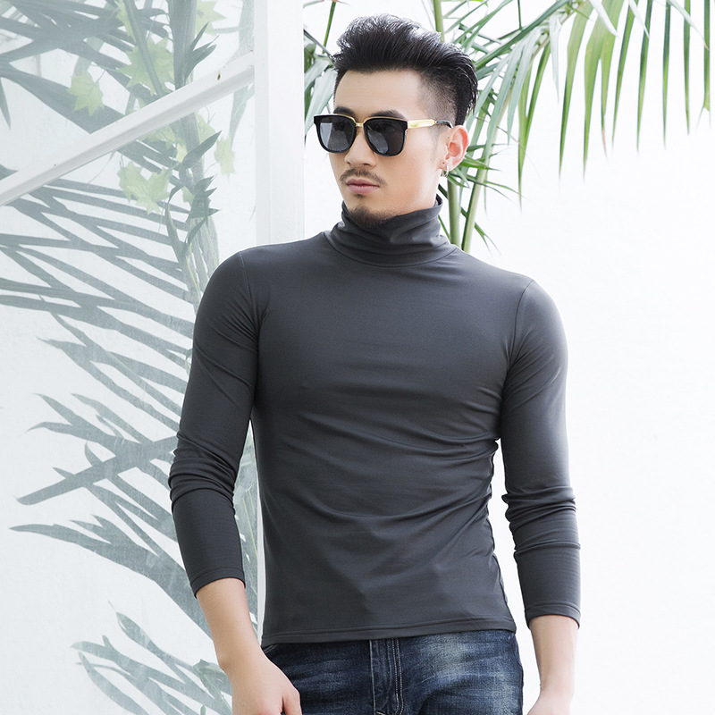 High neck casual repair bottoming shirt