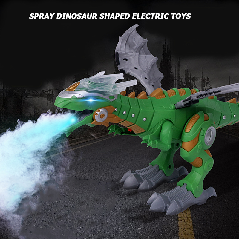 Cash on delivery—Spray electric dinosaur toy