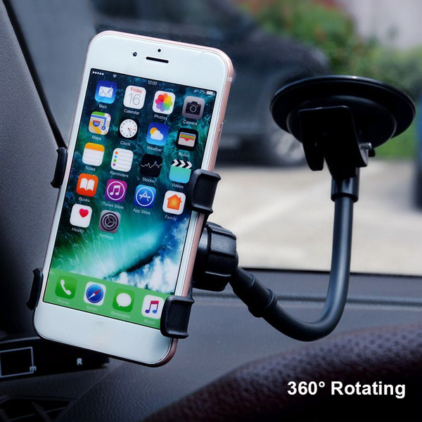 Universal 360 Degree Rotation Suction Cup Car Windshield Mobile Phone Holder Bracket Mount for Iphone PSP GPS Mount