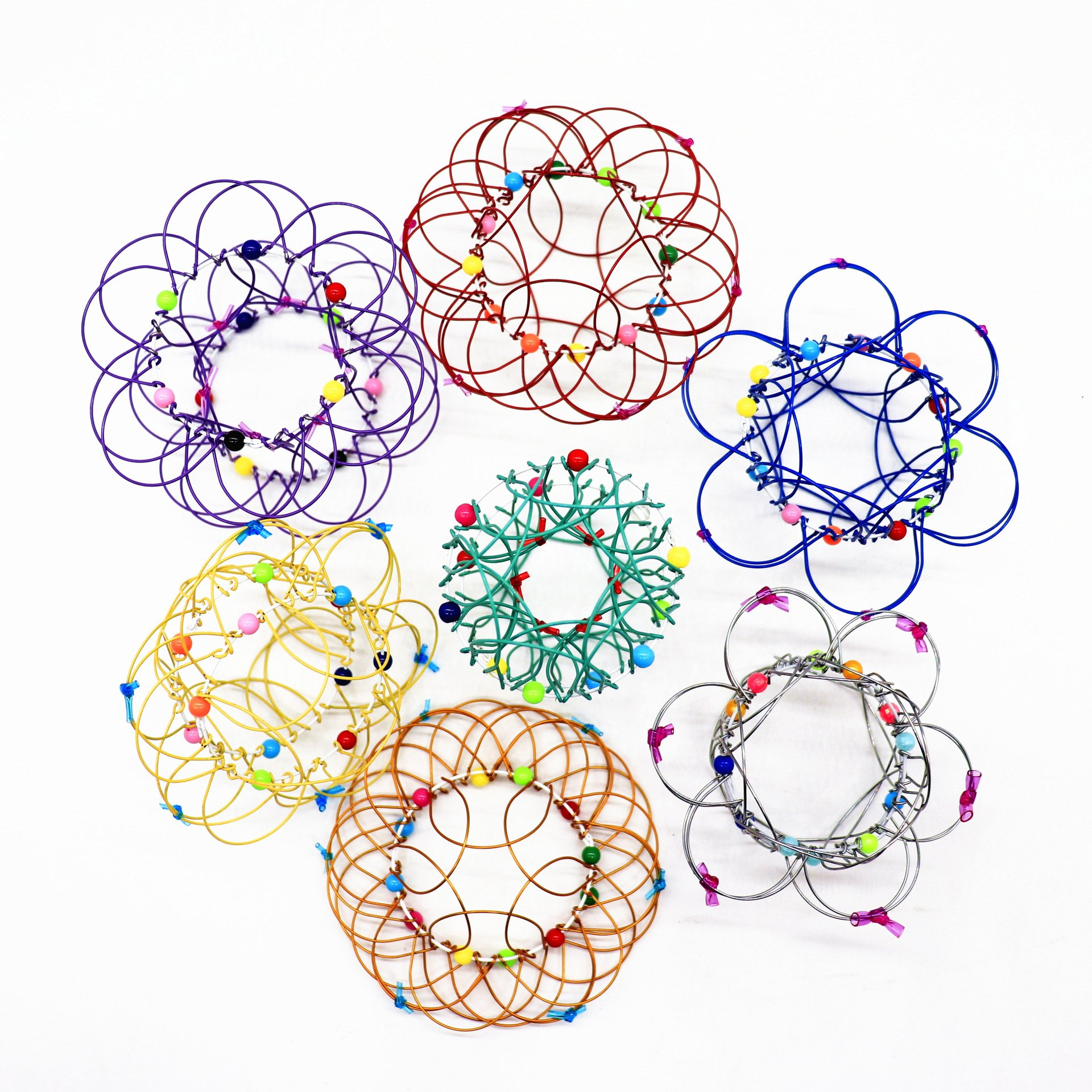 【Hot Sale 2021】Magic Mandala Flower Basket Toy