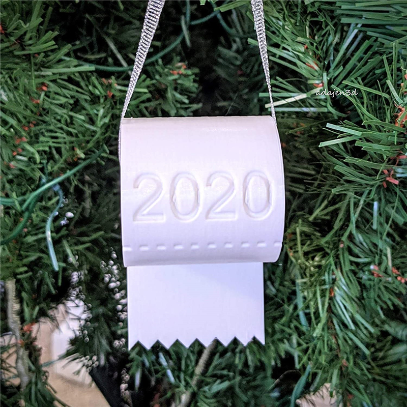 2020 Christmas Ornament Toilet Paper