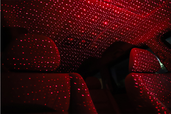 Plug and Play - Car and Home Ceiling Romantic USB Night Light!