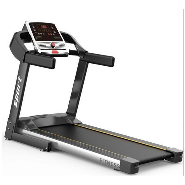Foldable Treadmill Electric Motorized Running Machine With LCD Monitor