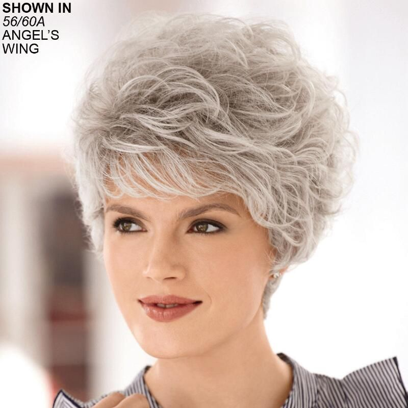 White Storm Wig White Lavender Hair Auburn Ombre Dark Blue Hair