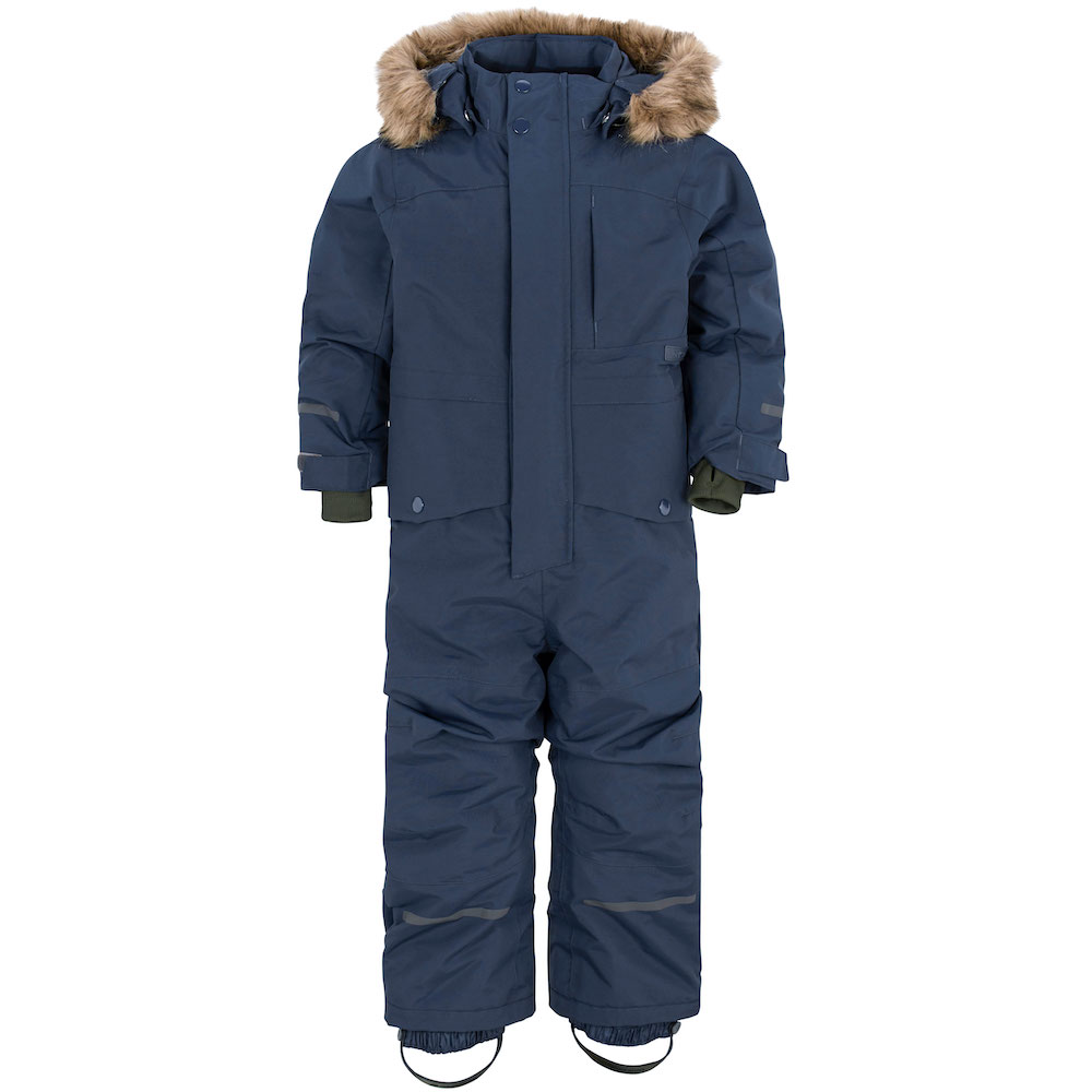 Waterproof and cold-proof children's down jacket suit