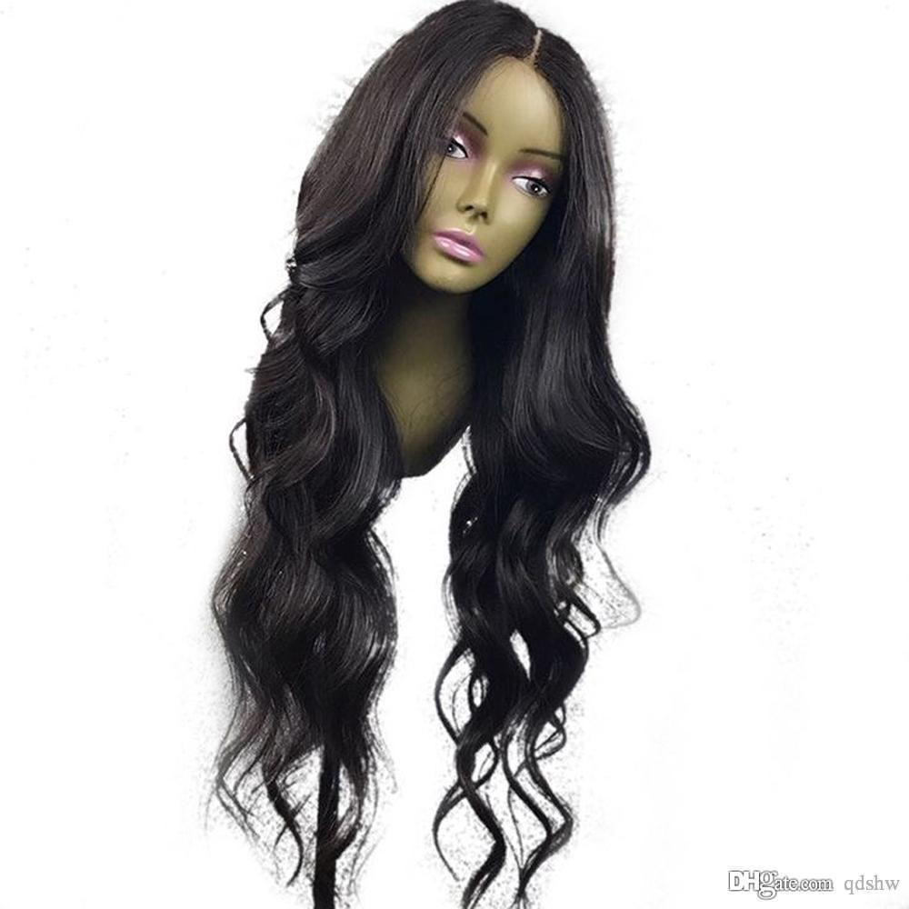 Lace Front Black Wig affordable Lace hair wigs natural hair wigs for womens online