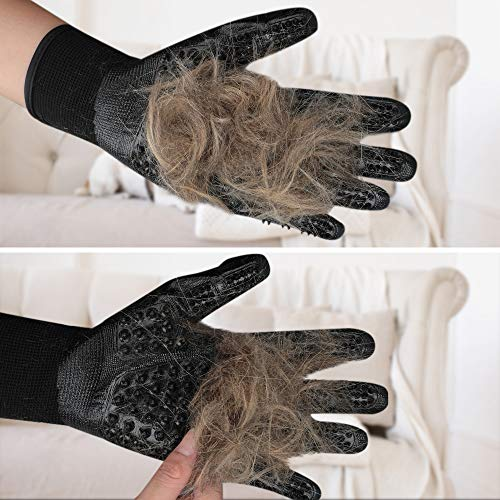 Hirundo® Pet Grooming Gloves For Cats, Dogs & Horses