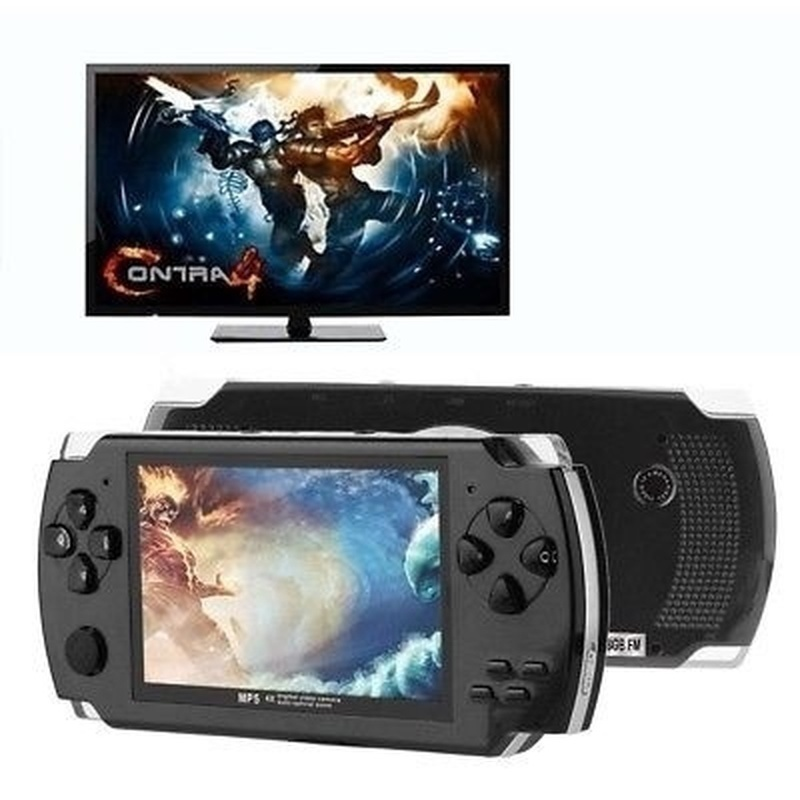 2020 New Upgrade Portable 4.3 Inch 128 Bit HD Handheld Game Console with 10000 Classic Games Best Gift for Kid