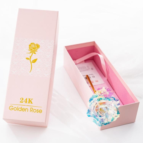 (New Year Sale- 50% OFF) Limited Edition Galaxy Rose (with Stand)- Buy 2 Get Extra 10% OFF