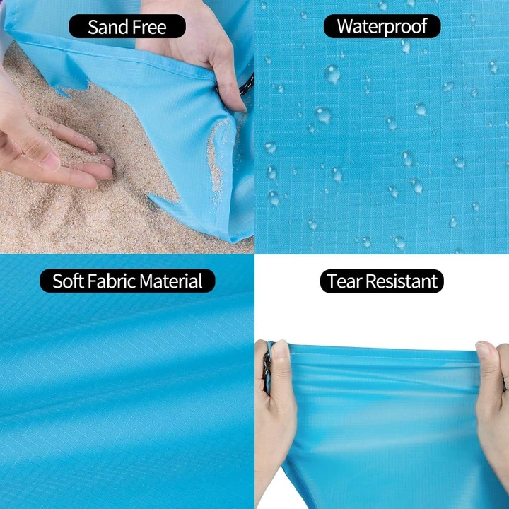 🔥🔥HOT SALE!! Sandproof Free Beach Blanket