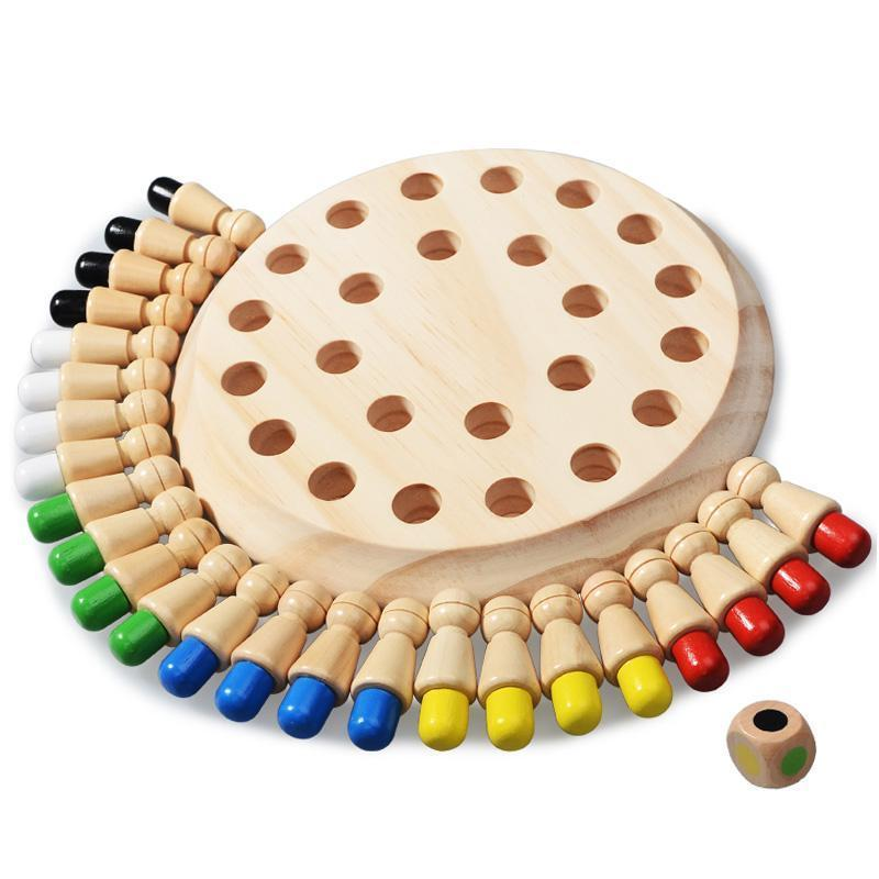 Puzzle game-Wooden Memory Match Stick Chess