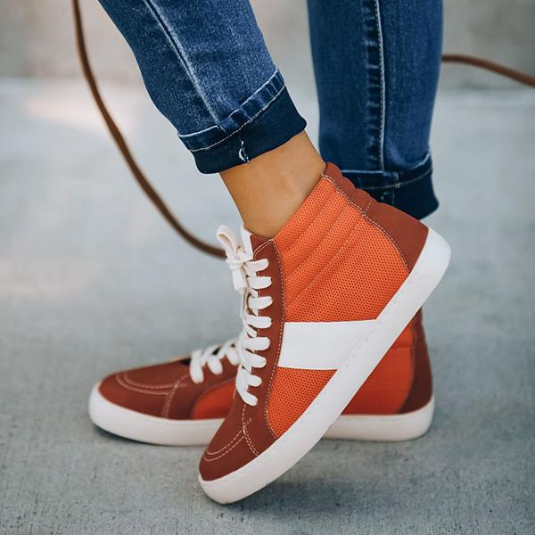 Bonnieshoes Comfortable Breathable High-Top Sneaker