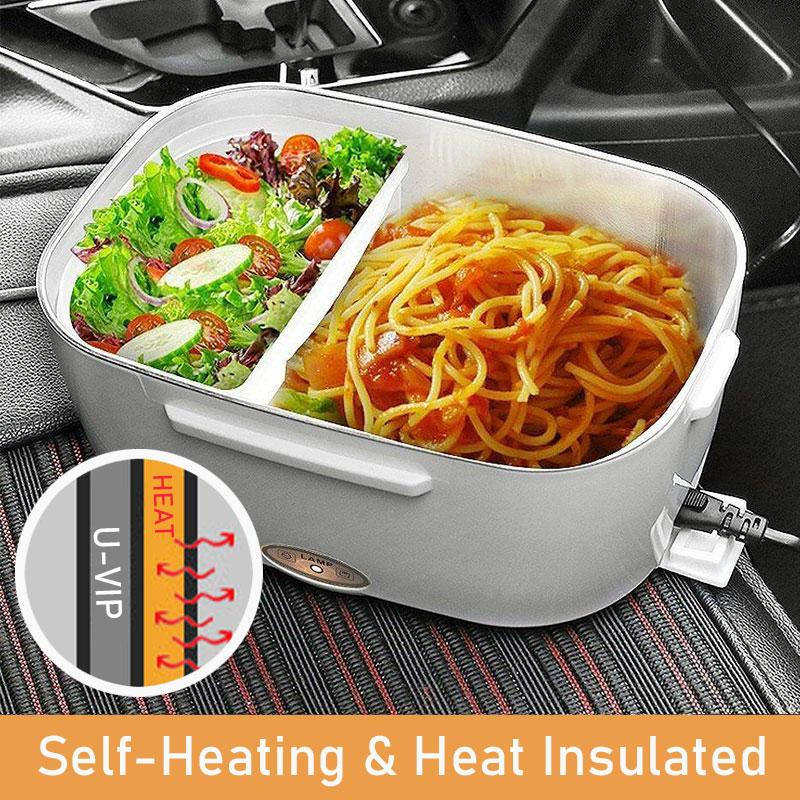 Portable Heated Electric Lunch Box 2 IN 1📢 50% OFF