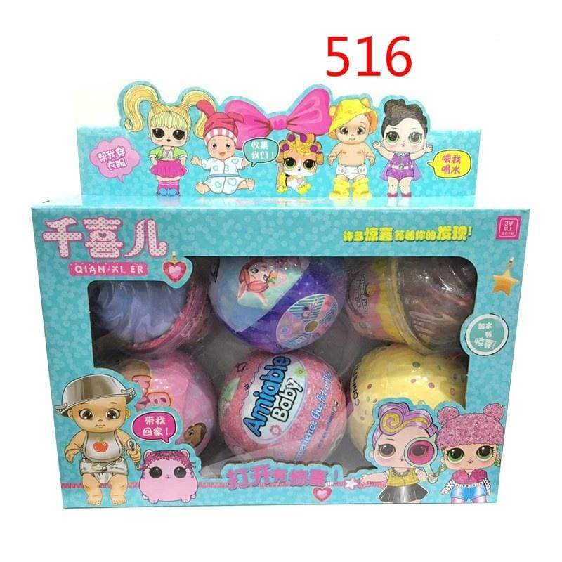 Kids Doll Gift Fshion Surprise Doll Surprise Ball Doll Accessories Kids Toys Popular Toys Girls Gift