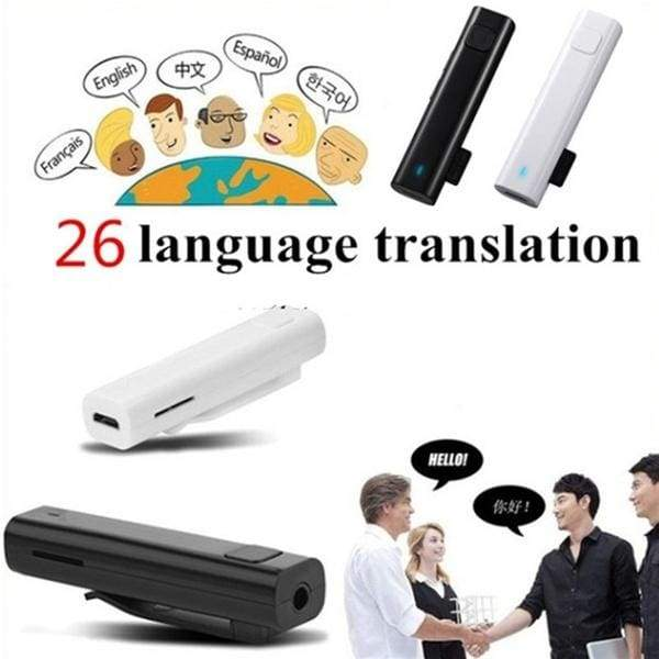 26 Multi-language Voice Translator Smart Wireless Headphone For Travel Meeting Nice