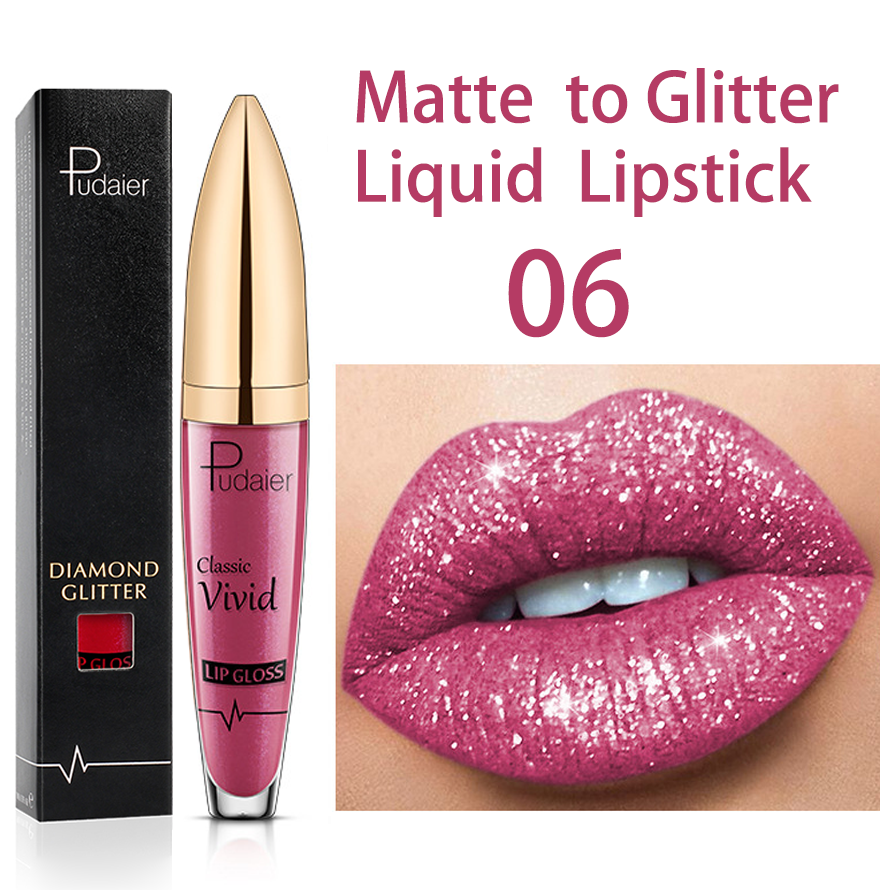 🔥Buy 3 Or More (15%OFF+Free Shipping) - 18 Color Diamond Shiny Long Lasting Lipstick