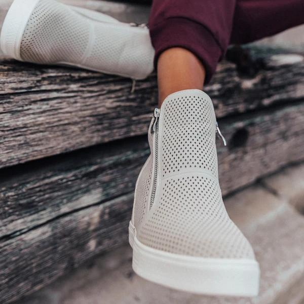 Twinklemoda Perforated Stylish Breathable Sneakers