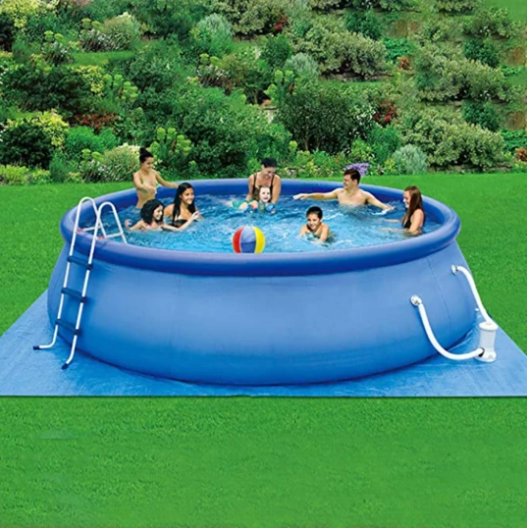 2020 Round Large Size 12ft X 36in Shaped Swimming Pool, Suitable For Home And Garden