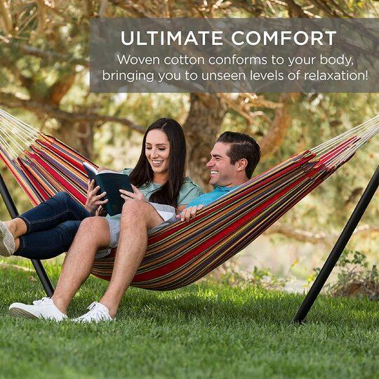 【Last Day Promotion-50% OFF】Ultimate comfortable leisure hammock