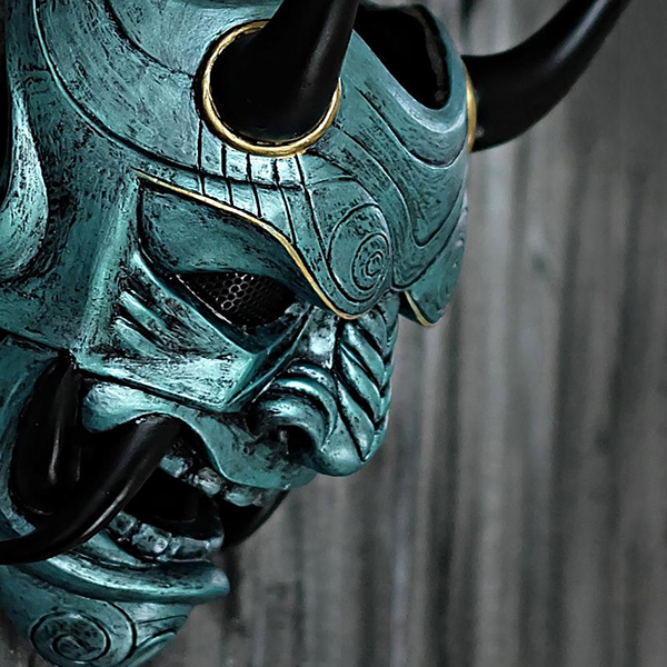 Samurai Assassin Demon Oni BB Gun Airsoft Mask