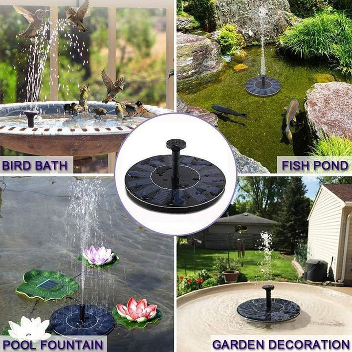 50% OFF Today!-Spring Solar Powered Bionic Fountain