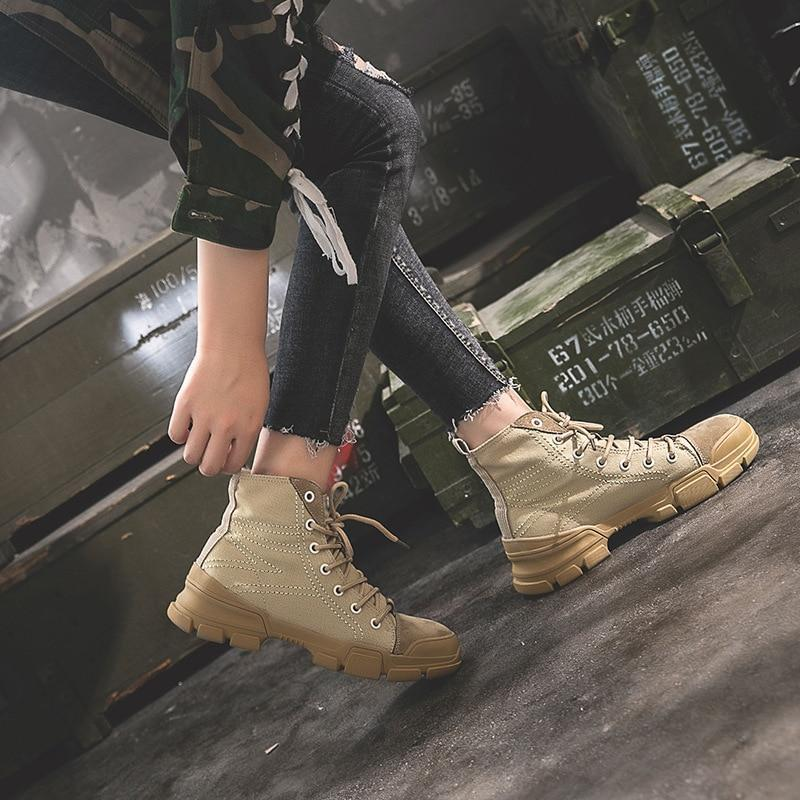 NEW women ankle riding boots lace up