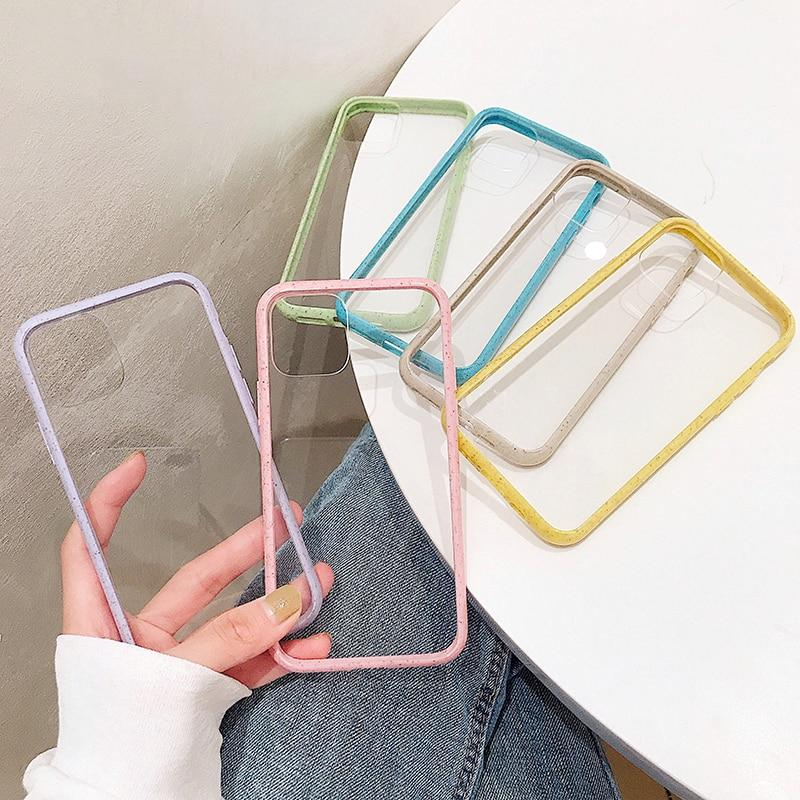 Colorful Lining Clear Case