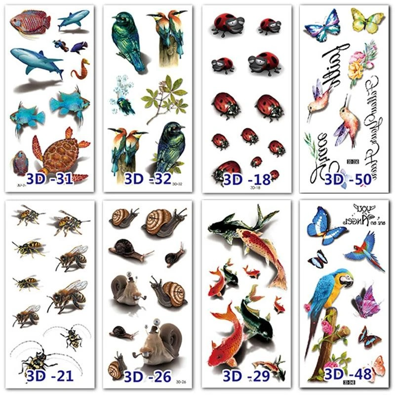 🎁50% Off🔥Waterproof Temporary 3D Tattoo Stickers