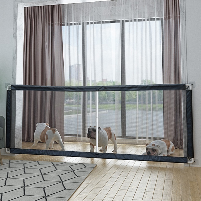 Magic-Gate Dog Isolation Net Portable Folding Pet Isolation Fence Dog Barrier Safety Fence