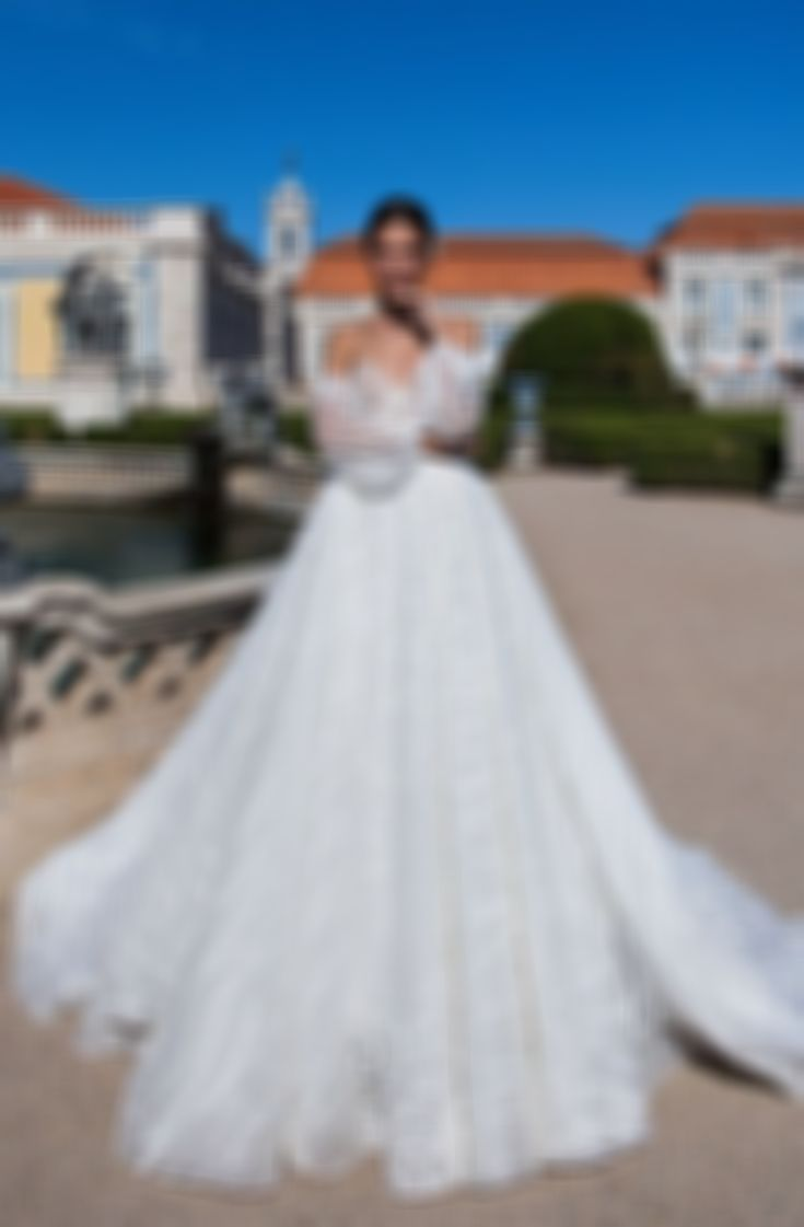 Fashion And Beautiful Champagne Wedding Dress For Girl