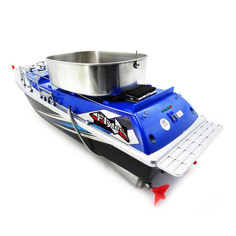 60km 8 Hours RC Nesting Boat, Remote Control Hook Ship Bait Boat Fishing Gear Automatical Hit Device