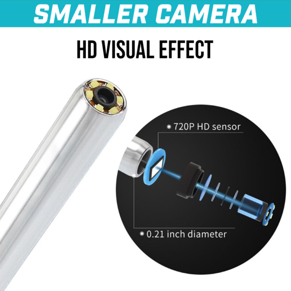 3  IN 1  EAR CLEANING ENDOSCOPE