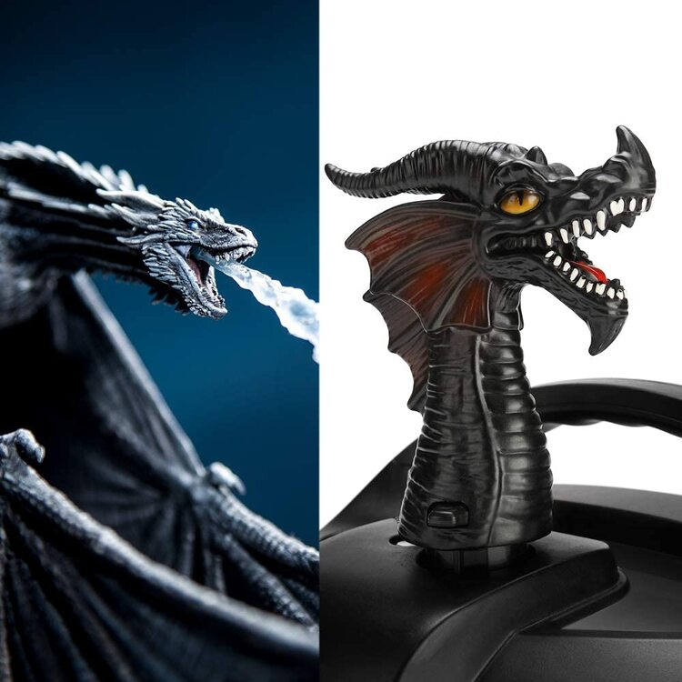 (2020 Best Creative Xmas Gift!) Fire-breathing Dragon Steam Release Accessory