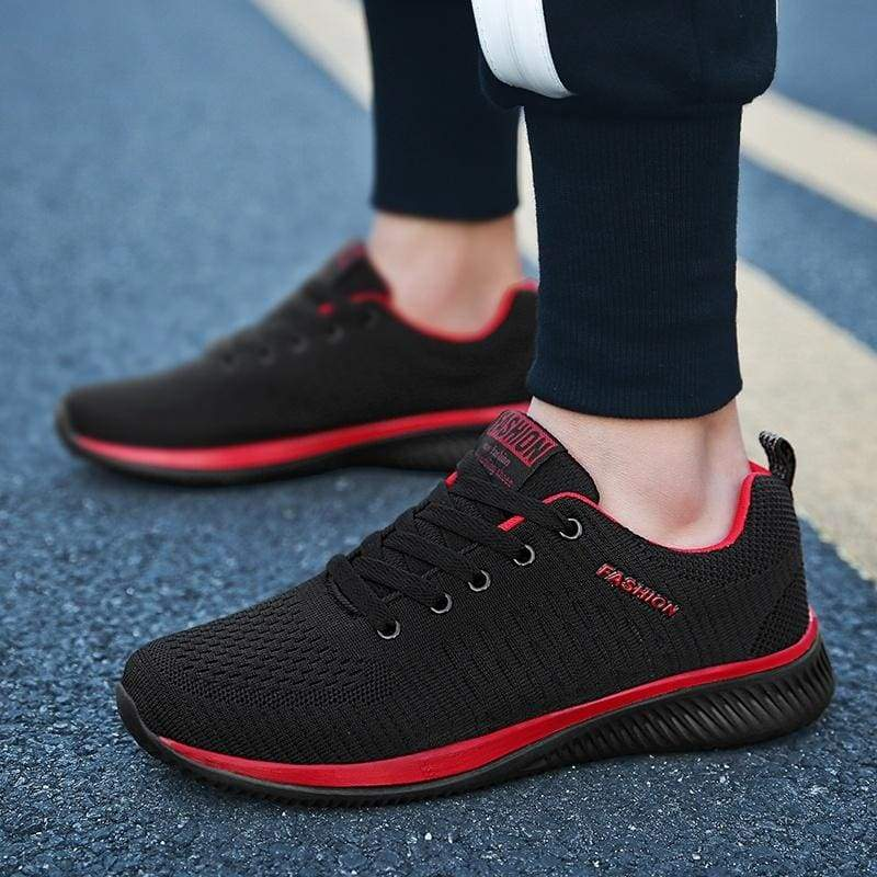 Men Mesh Casual Running Sneakers Soft Breathable Sport Shoes Male Trainer Shoes