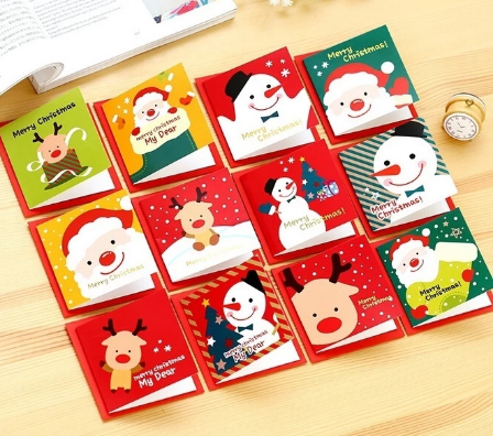 24 pieces/set of Christmas cards