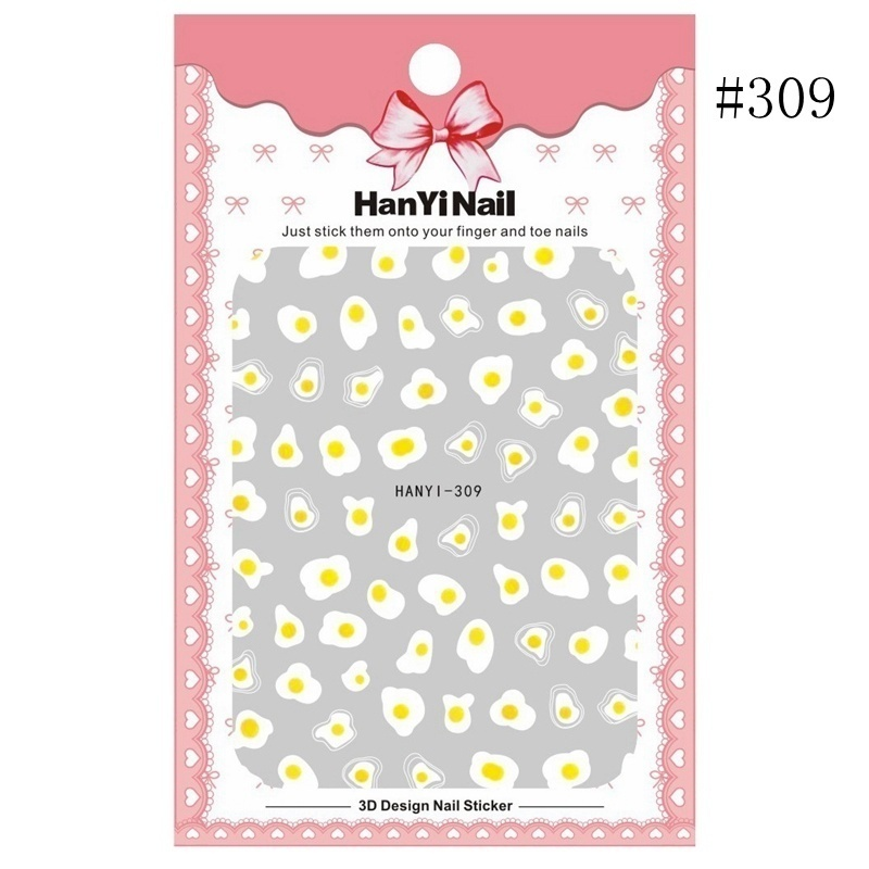 1 Sheet 3D Nail Stickers White Lotus Nail Designs Stickers Transparent Flower Nail Accessories For Nail Art Decorations