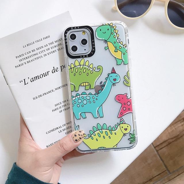 Shockproof Cartoon Dinosaur Case