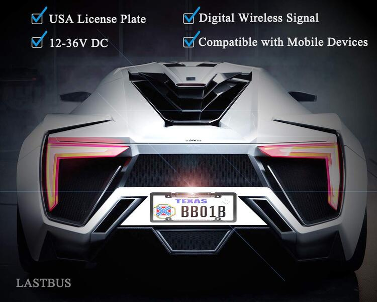 50%OFF-License Plate Wireless Camera - Dedicated to U.S. License Plate