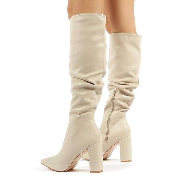 Twinklemoda Fashion Slim Zipper Boots