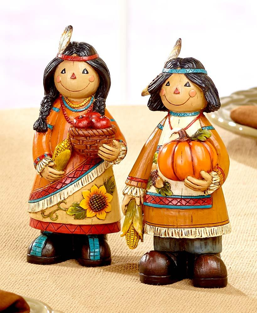Thanksgiving Couples or Turkey Figurines