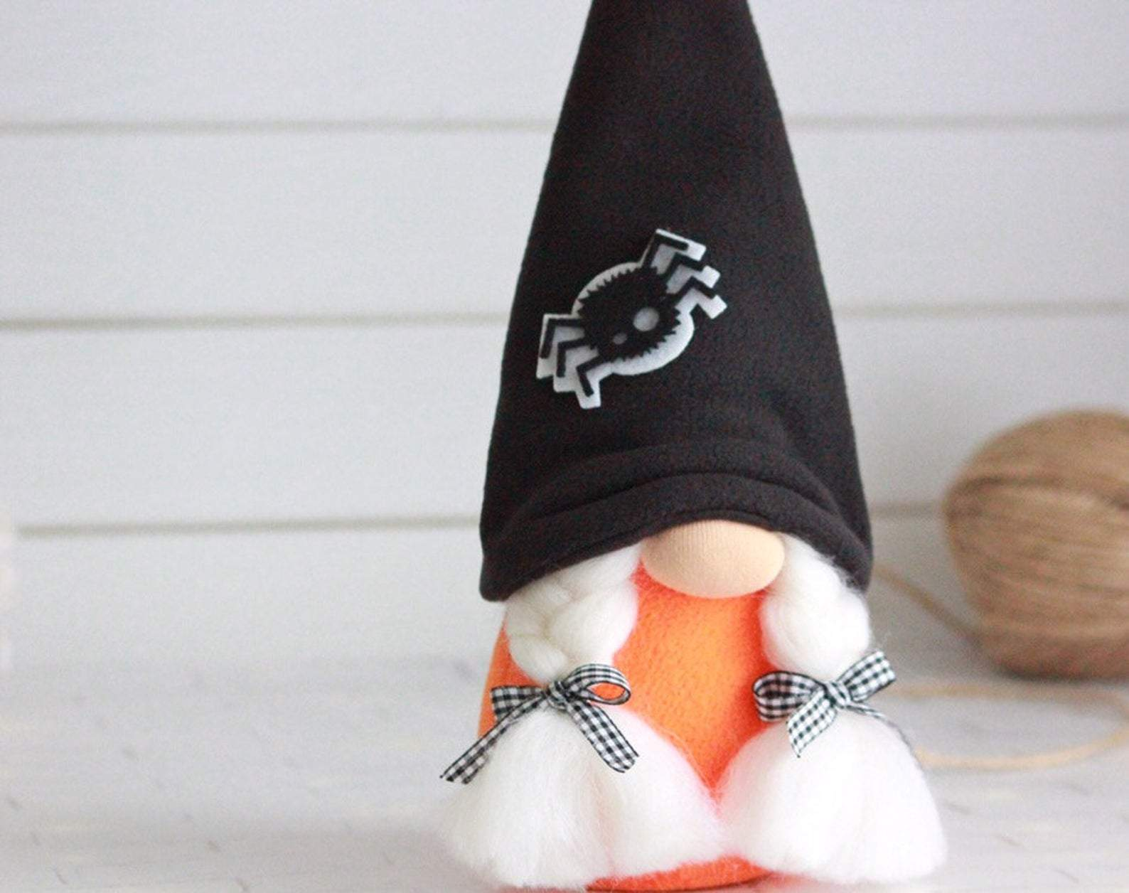 Halloween gnome Fall gnome Halloween decor