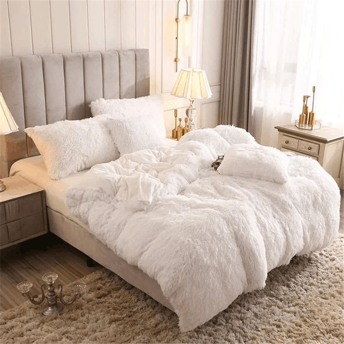 FREE SHIPPING TODAY -- Fluffy Blanket With Pillow Cover 3 Pieces Set【Hot Selling】