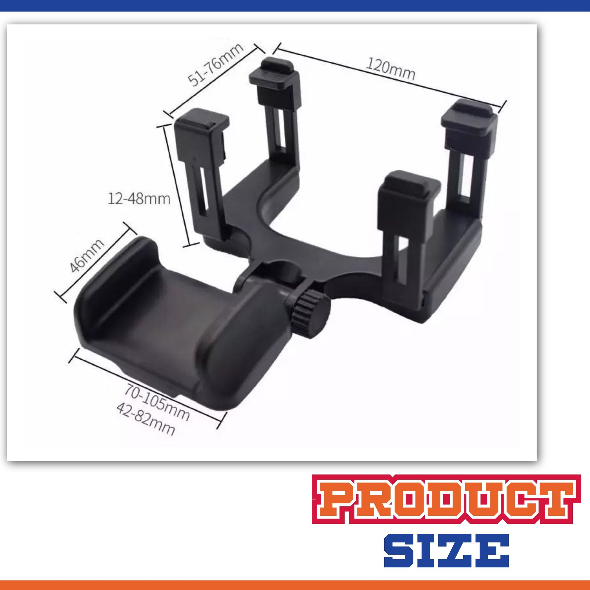 (YEAR END SALE - SAVE 50% OFF)-Rear-view Mirror Phone Mount-BUY 2 FREE SHIPPING