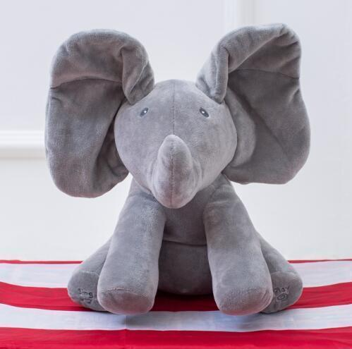 Peek-A-Boo Musical Elephant