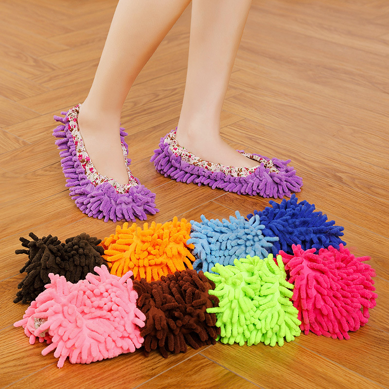 Mopping slippers Lazy mopping shoe covers for household use Mopping shoe cover artifact