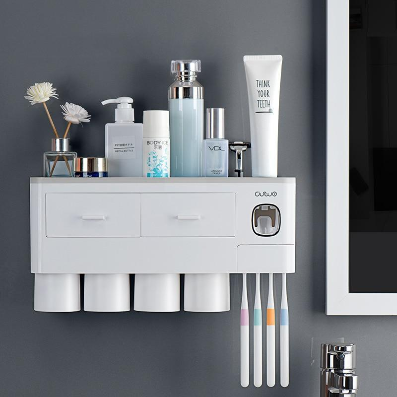 Ashley™ Multi-Functional Toothbrush Holder