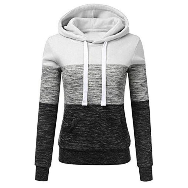 YZ Women Hooded Sweatshirts Long Sleeved Hoodie Loose Sports Wear