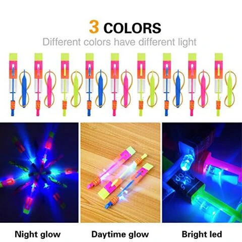 💥Christmas sale💥LED Helicopter Shooters (10-PIECES)