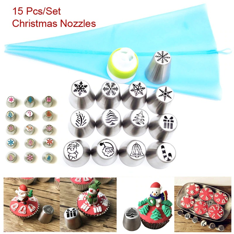 🎄Christmas Design Pastry Nozzles🎄