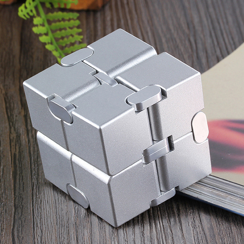 Infinity Cube Fidget Toy -- The Ultimate Stress Reliever
